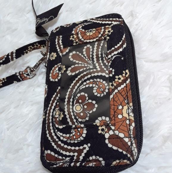 Vera Bradley Handbags - Vera Bradley Cafe Latte Grab-N- Go Phone Wristlet